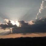 Cloudburst. Photo by Benita Esposito