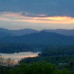 Sunset Lake Chatuge by Benita Esposito